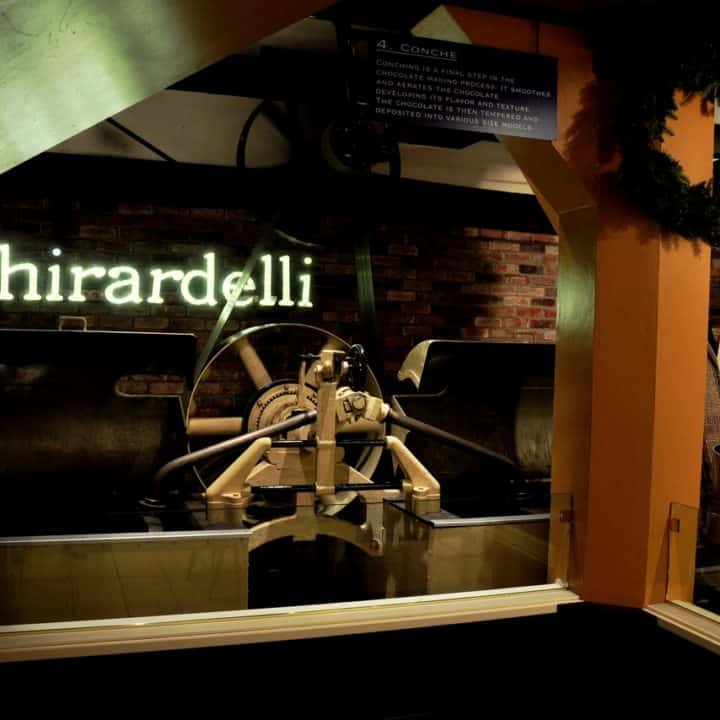 The Original Ghirardelli Ice Cream & Chocolate Shop Ghirardelli Chocolate San Francisco