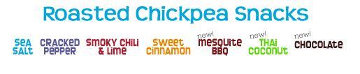 The Good Bean Chickpea Healthy Treats flavors