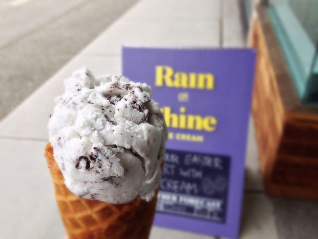 Rain Or Shine Ice Cream Kitsilano