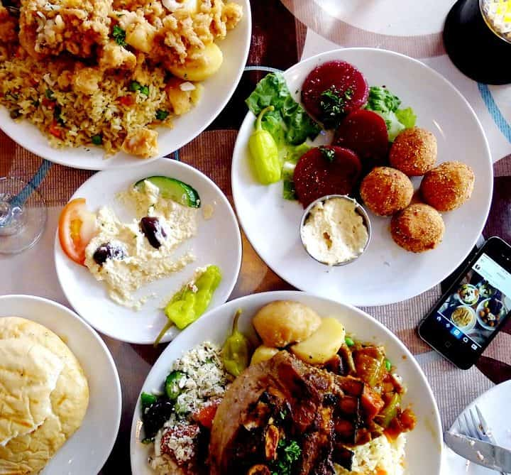 Stepho's Souvlaki Greek Taverna Stephos on Robson