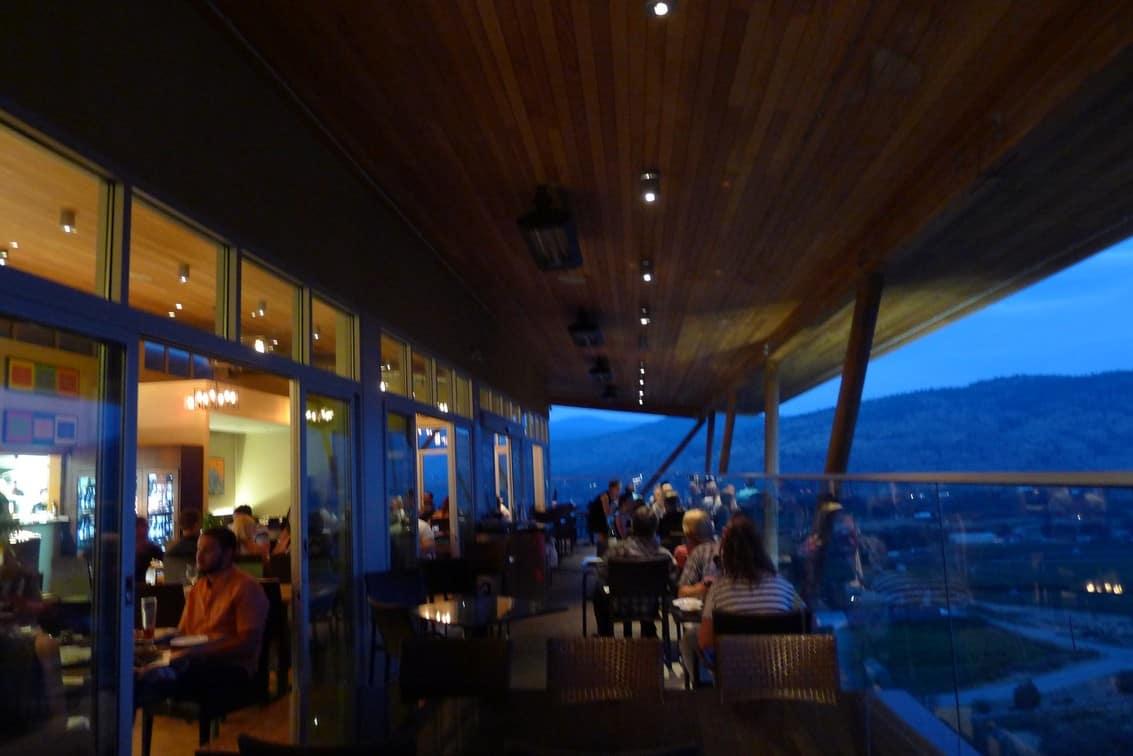 Miradoro Restaurant at Tinhorn Creek Winery Okanagan | Best Winery Vineyard Dining