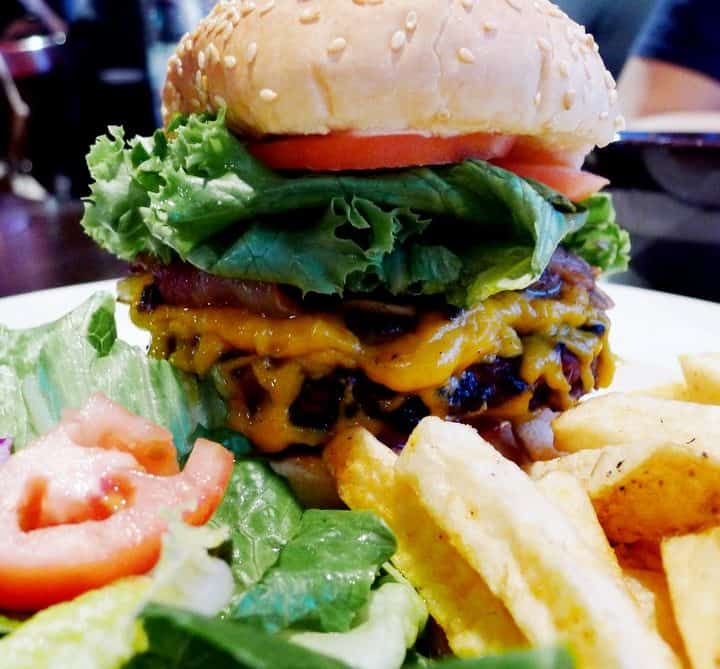 Purple Olive Grill Vancouver Burger Pub