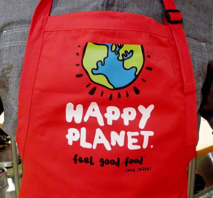Happy Planet Dirty Apron Soup Launch Event nomss.com instanomss