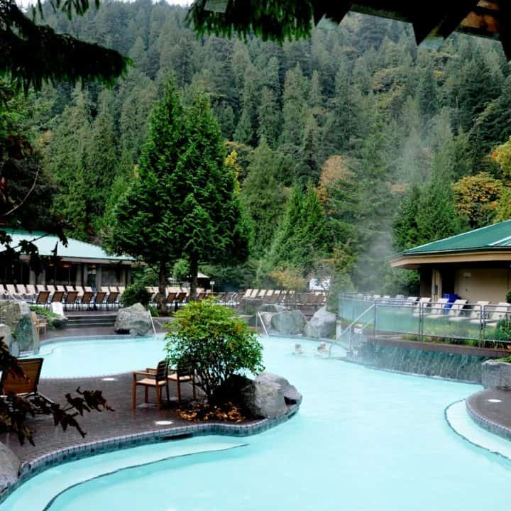 Harrison Hot Springs Resort Copper Room Healing Spa Lakeside Buffet Nomss