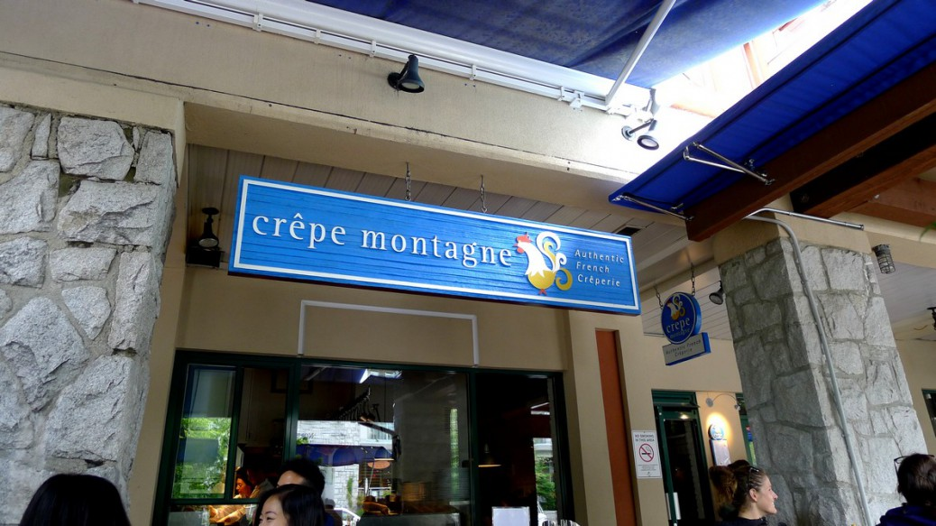Crepe Montagne Whistler French Creperie instanomss nomss