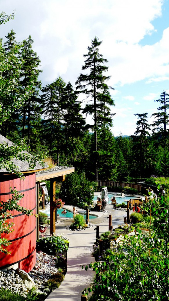 Scandinave Spa Whistler Resort instanomss nomss