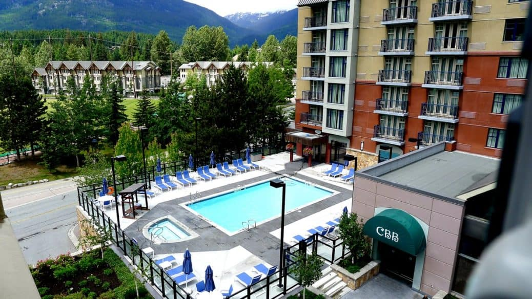 Hilton Hotel Whistler BC instanomss nomss