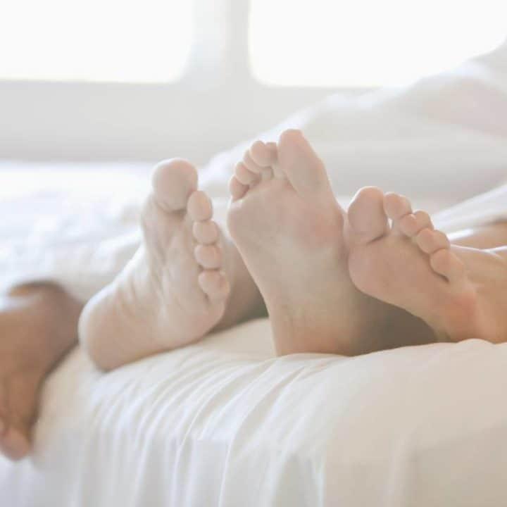 Aphrodisiac Foods Romance Sex couple in bed gottman