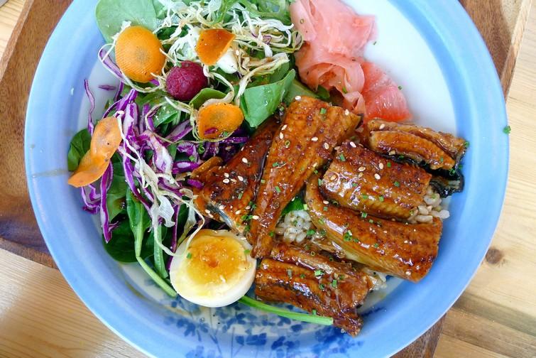 Shishinori Japanese Eatery Vancouver   Wild Salmon Carpaccio Bowl