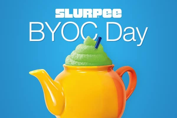 Slurpee 711 Slurpee Fans, Friday is Bring Your Own Cup Day 7-Eleven instanomss nomss