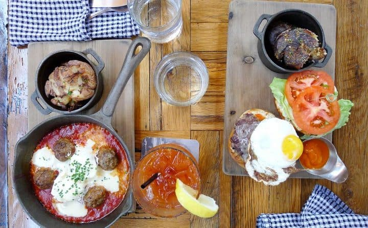 Belgard Kitchen Brunch The Settlement Building VANCOUVER postmark brewing INSTANOMSS NOMSS
