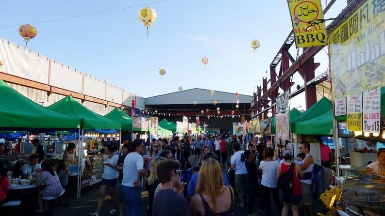 International Summer Night Market Richmond | Street Food Guide