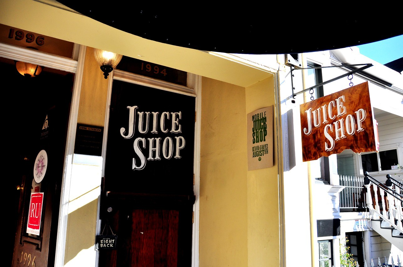 Juice Shop San Francisco | Best Cold Press Juice Marina/Cow Hollow