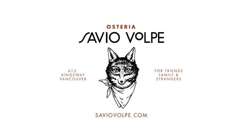 Osteria Savio Volpe Kingsway Vancouver Instanomss Nomss Food Blog