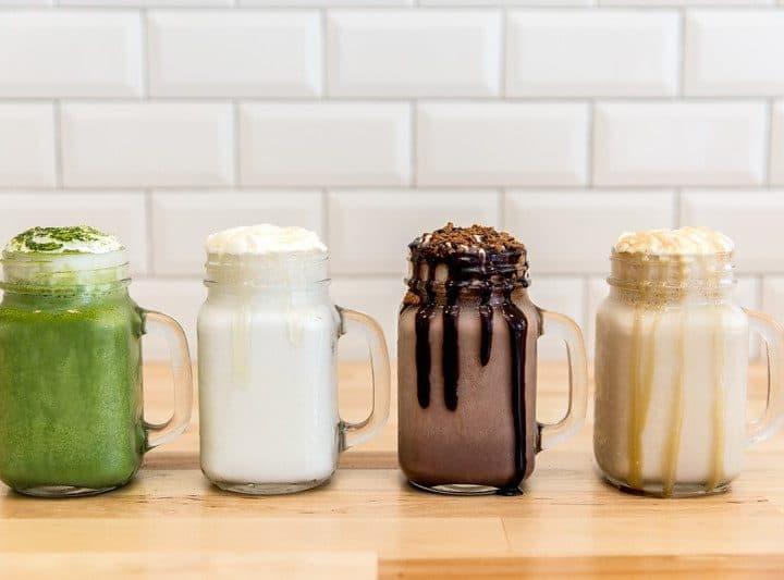 Soft Peaks Ice Cream Gastown New Milkshake Menu Vancouver Instanomss Nomss Food Blog
