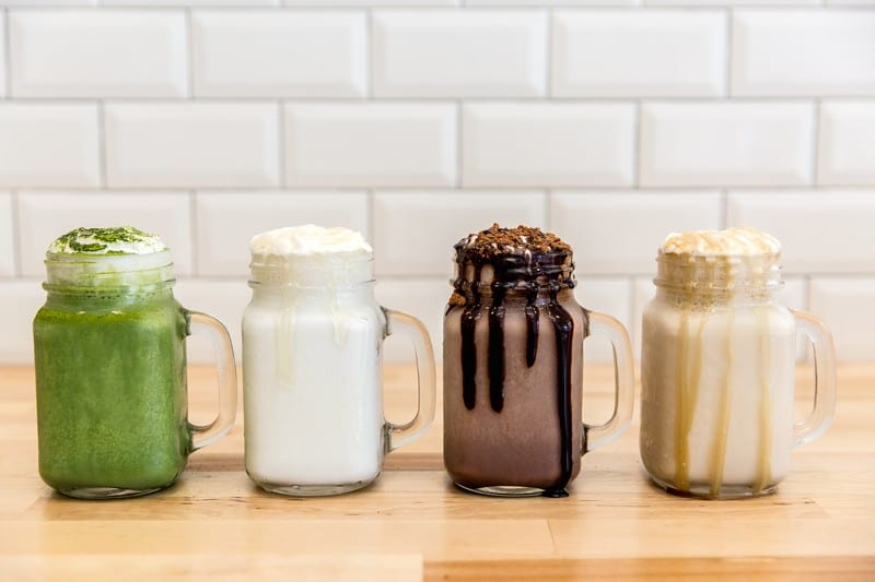 Soft Peaks Ice Cream Gastown | Launches New Milkshake Menu