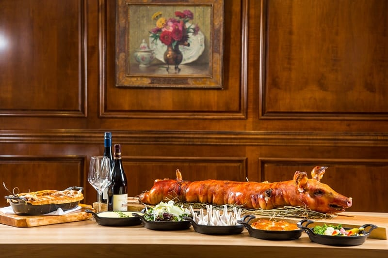 Boulevard Kitchen & Oyster Bar Vancouver | Fall Sunday Pig Roast Series