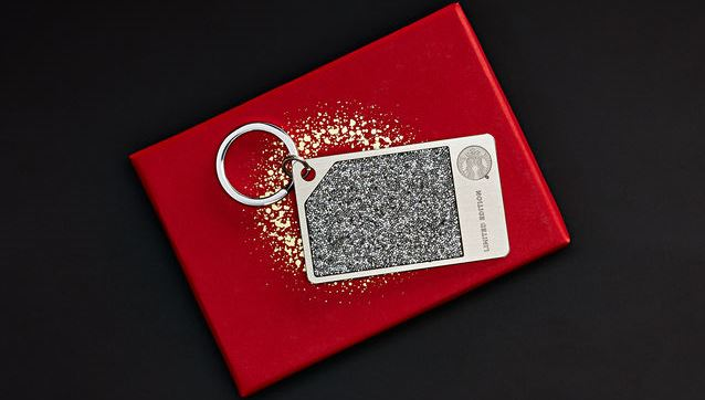 Starbucks Coffee Holiday Christmas Limited Edition Silver Starbucks Card adorned with Swarovski® crystals Instanomss Nomss Lifestyle Canada