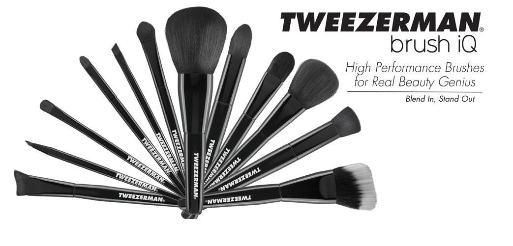Day 7 – Tweezerman Brush IQ Set | 12 Days of Christmas Giveaway!
