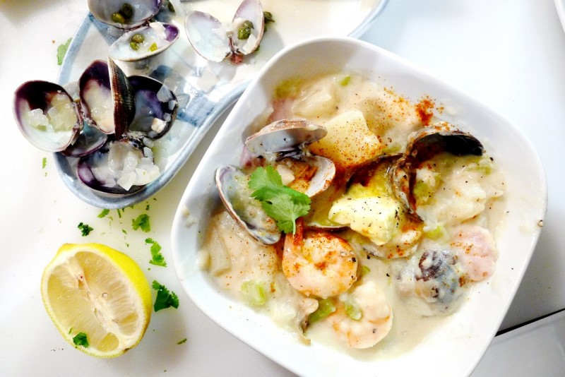 PEI Seafood Clam Chowder Recipe east coast Foodee ChefsBoxChallenge instanomss nomss 0037 b