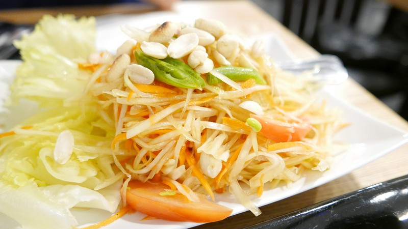 Bai Bua Thai Cuisine Vancouver East Hastings Instanomss Nomss Food Photography Healthy Travel Lifestyle Canada