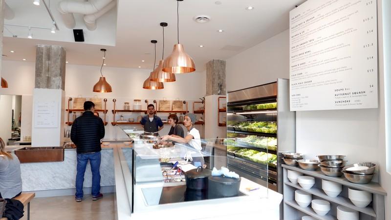Field and social vancouver salad bar healthy eats vegan for Bar food vancouver
