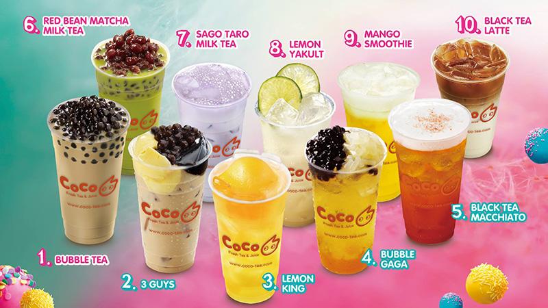 COCO Fresh Tea & Juice Vancouver | Bubble Tea Boba Milk ...