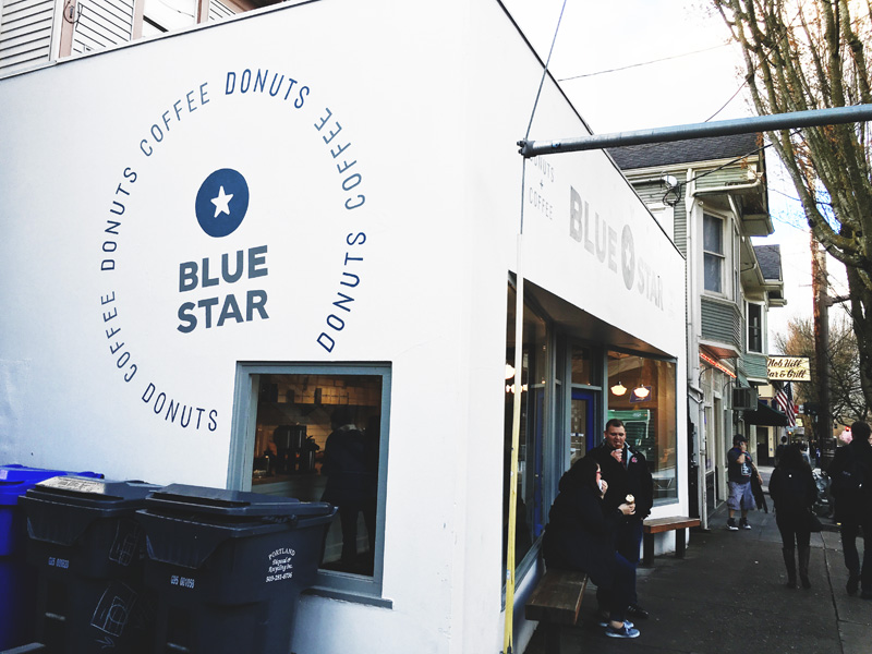 Blue Star Donuts Portland Oregon PDX Instanomss Nomss Delicious Food Photography Healthy Travel Lifestyle Canada