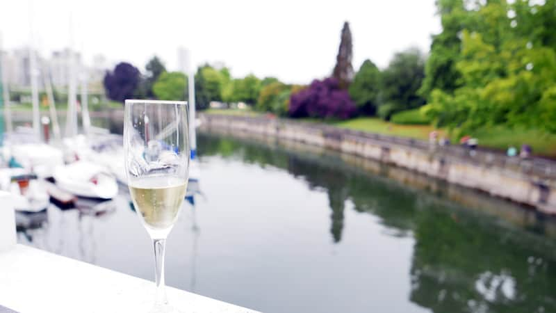 CHAMPAGNE & CAVIAR LIBERTY WINE MERCHANTS Vancouver Rowing Club Instanomss Nomss Delicious Food Photography Healthy Travel Lifestyle Canada