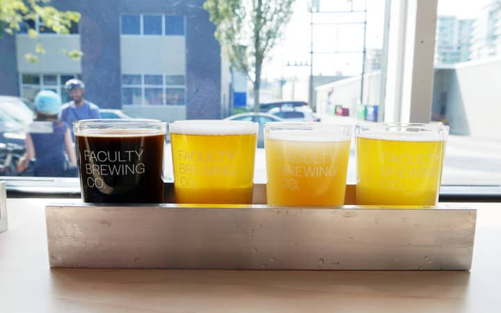 Faculty Brewing Co Vancouver Craft Beer Brewery Instanomss Nomss Delicious Food Photography Healthy Travel Lifestyle Canada