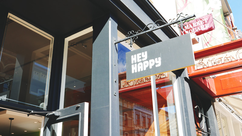Hey Happy Coffee Victoria | Downtown Cafe
