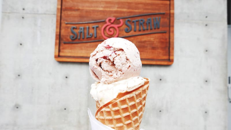Salt and Straw Ice Creamery Portland Oregon USA Instanomss Nomss Delicious Food Photography Healthy Travel Lifestyle Canada