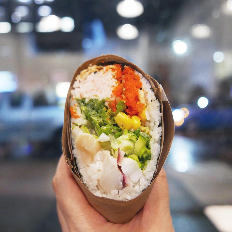 Pokeritto Vancouver | Sushi Burrito on Dunsmuir