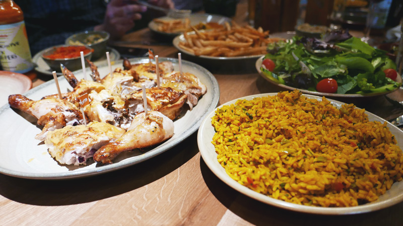 Nandos Chicken Richmond Garden City Nomss Delicious Food Photography Healthy Travel Lifestyle