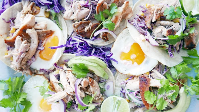 Breakfast Tacos Recipe Nomss.com Delicious Food Photography Healthy Travel Lifestyle