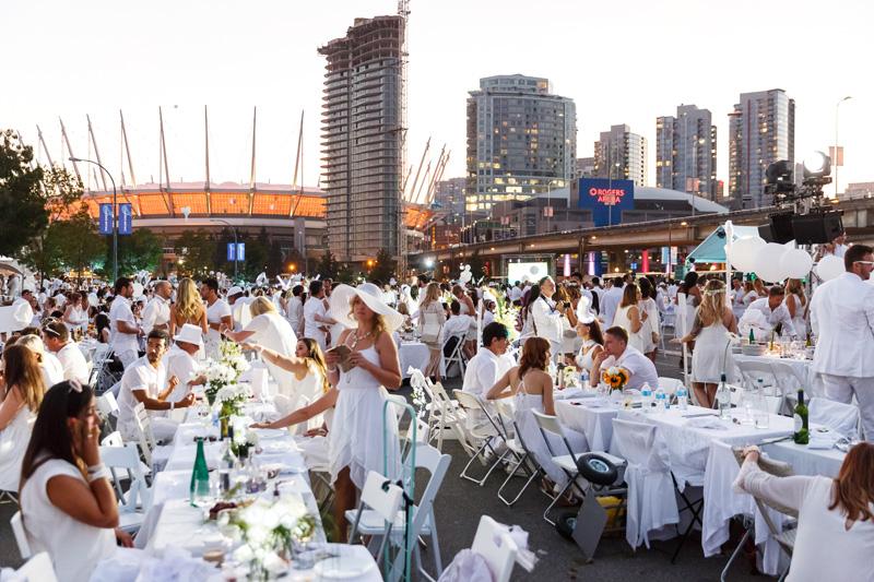 Diner en Blanc Vancouver