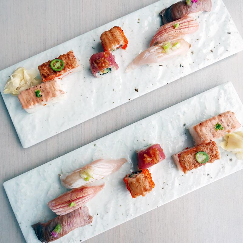 Miku's Signature Sushi:
