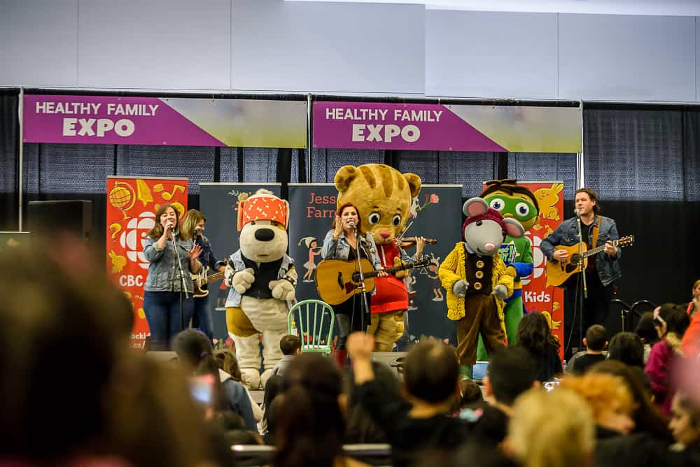 HEALTHY FAMILY EXPO HFE 2019 Nomss.com Daniel the tiger
