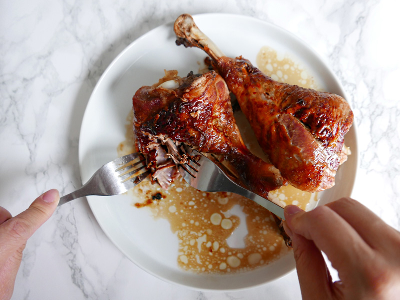 Quick and Easy to make Hand Shredded Turkey Recipe 芝麻手撕火雞. Low Carb Instant Pot Pressure cooker or oven roasted. Hand Pulled Poultry NOMSS.com Food Blog