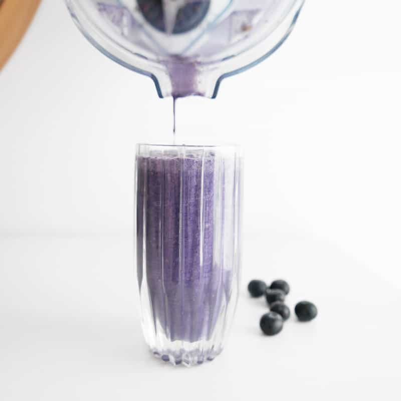 KETO FRIENDLY BLUEBERRY SMOOTHIE COCONUT MILK RECIPE WITH PLANT BASED PROTEIN POWDER NOMSS.COM HEALTHY FOOD RECIPES