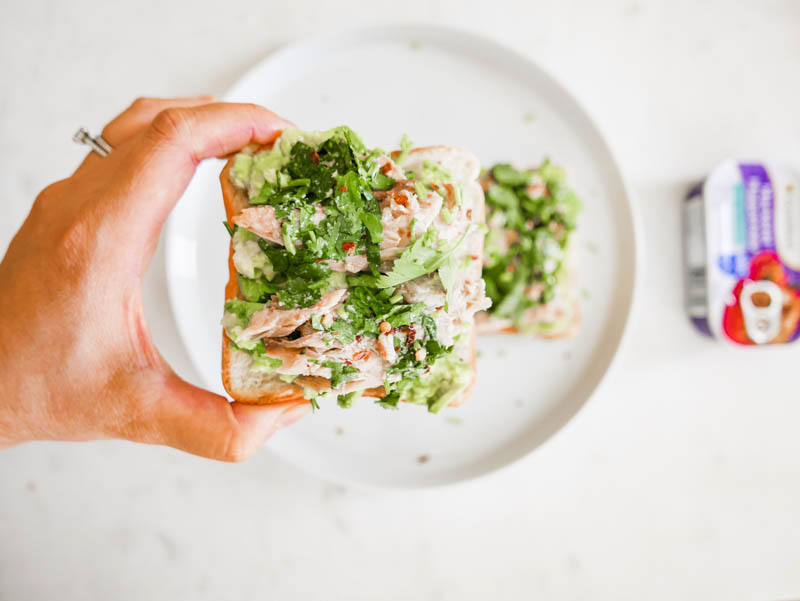 Sardine Avocado Toast Recipe Nomss