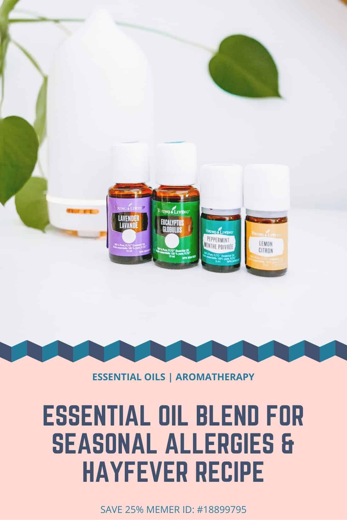 Essential Oil Blend For Seasonal Allergies Hayfever Recipe Nomss Com Vancouver Food Recipe Blog
