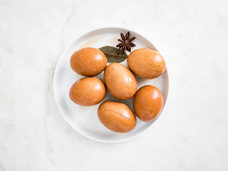 茶葉蛋 Chinese Tea Leaf Eggs