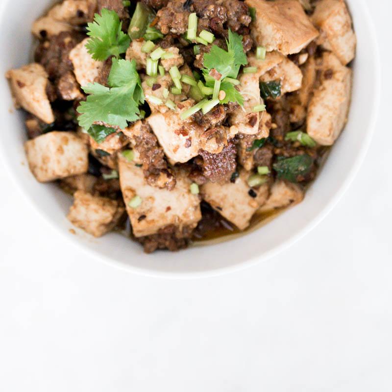 Szechuan Mapo Tofu 麻婆豆腐