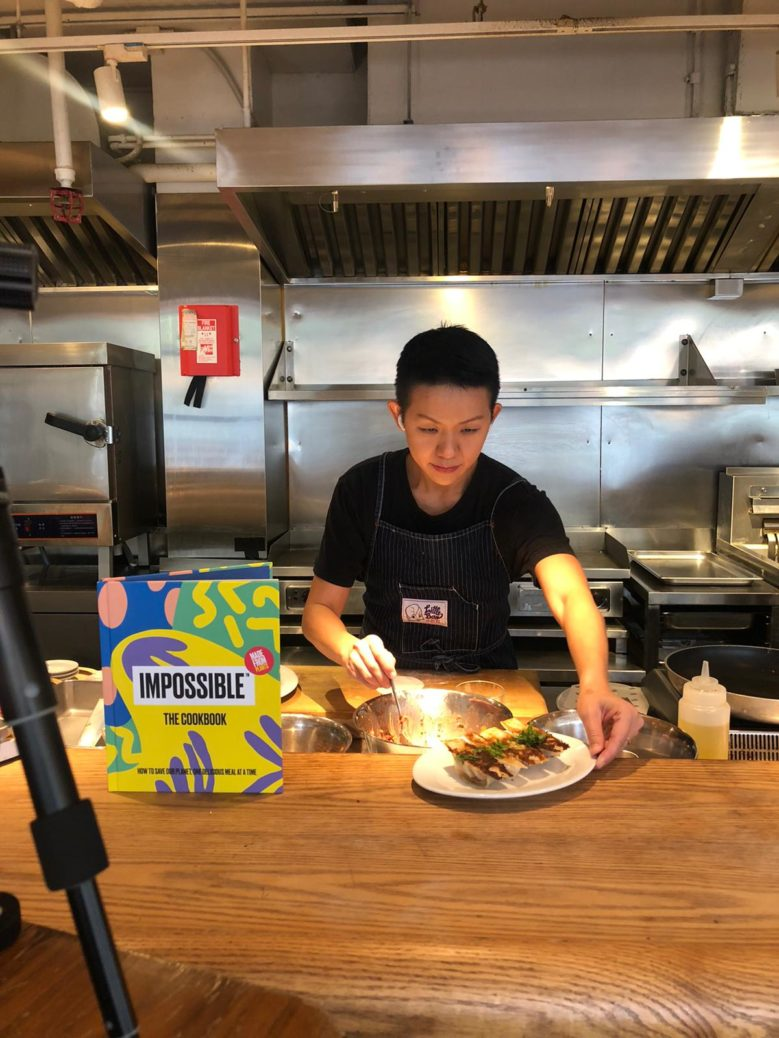 chef may chow at lil bao in hk