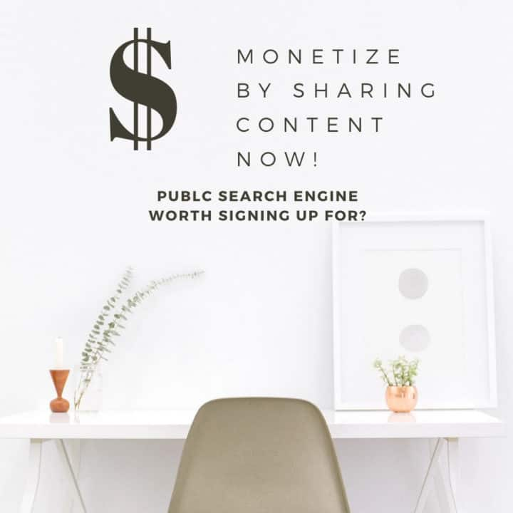 Start making money today with new search engine called PUBLC.com Publishers, Bloggers, Content Creators monetize simply by sharing blog posts. https://publc.com/nomss.com #PUBLC #cryptocurrency #cryptocurrencytrading #BITCOIN #MAKEMONEY #BLOGGINGFORBEGINNERS #BLOGPOSTIDEAS #MAKEMONEYFROMHOME #MAKEMONEYBLOGGER #HOWTO #INSTANOMSS #MONETIZEYOURBLOG