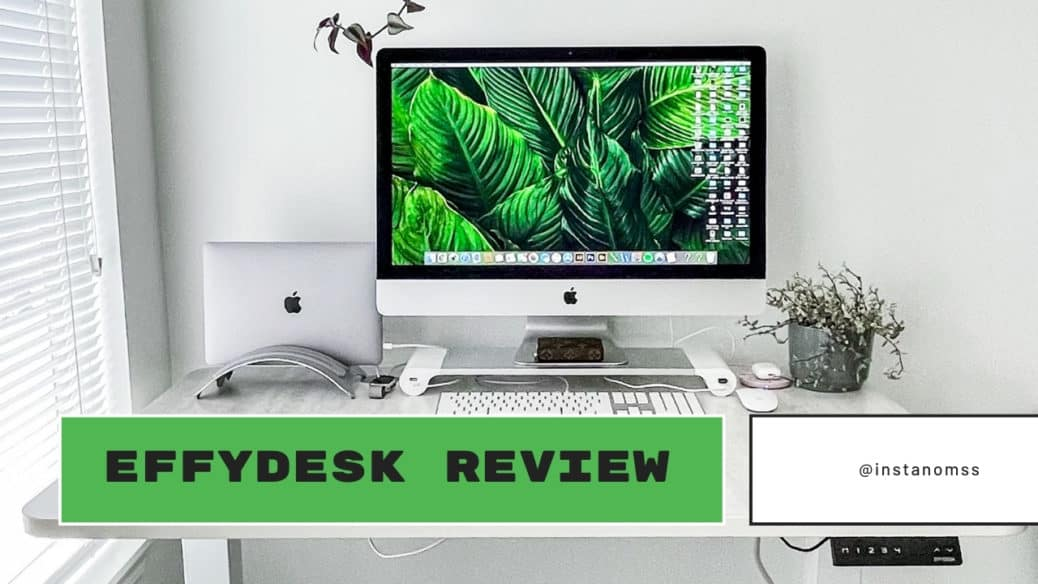 EFFY STAND UP DESK REVIEW PROMO CODE