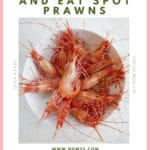 ow to Cook and Eat Spot Prawns