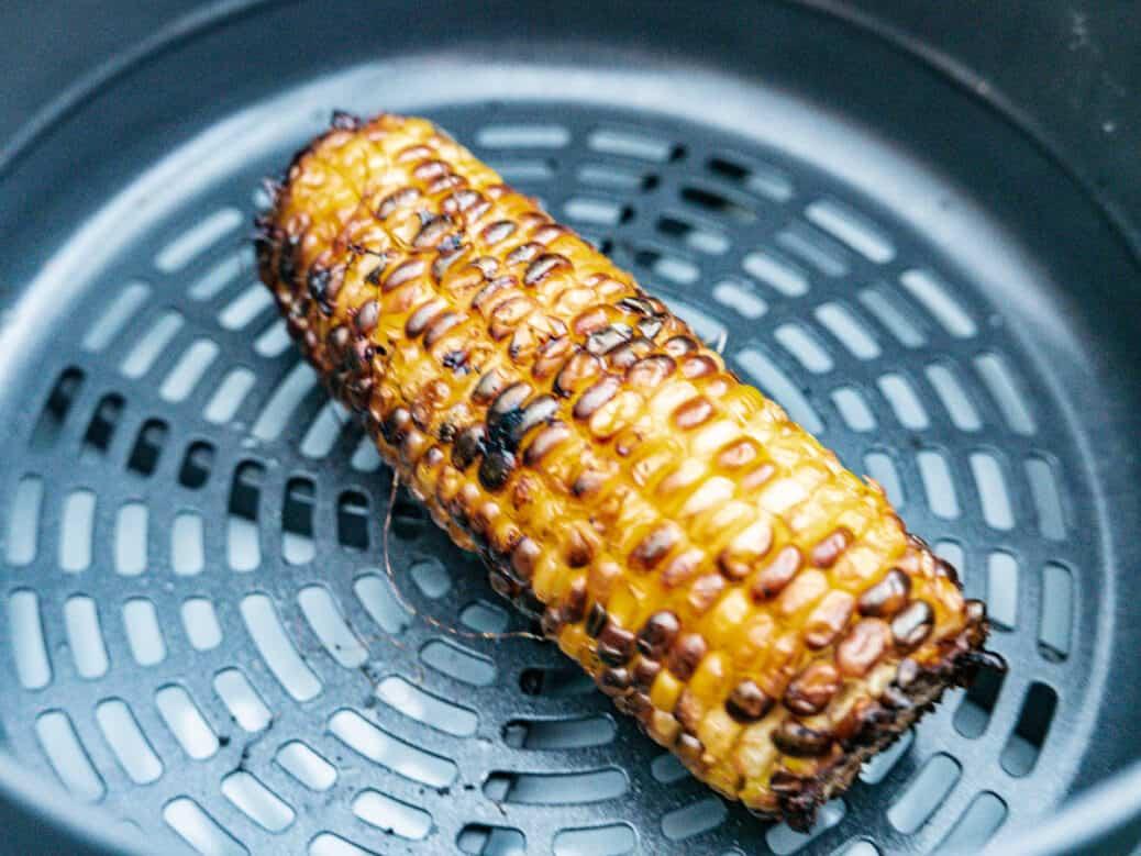15 Minute Air Fyrer Corn Recipe Nomss.com