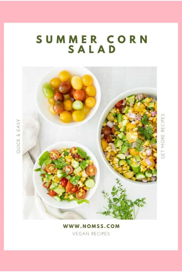 Air Fryer Local Corn Summer Salad